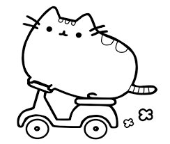 Pusheen Coloring Pages In
