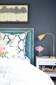 White Velvet King Headboard by Basic To Beautiful Custom Velvet Headboard Navy Paint Velvet