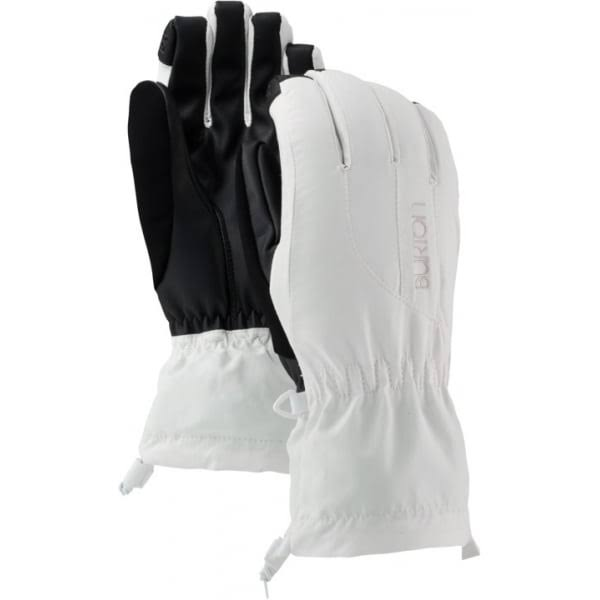 Burton Profile Womens Gloves (Stout White, S)
