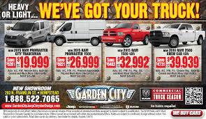 Garden City RAM Commercial Truck Ad | Garden City Jeep Chrysler ...