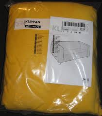 Kivik Sofa Cover Uk by Ikea Klippan Sofa Slipcover Cover Leaby Yellow Corduroy Cotton