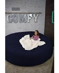Bean Bag Bed 8 Foot Xtreem Oversized Chair In Twill Navy Blue