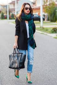 Casual Style Combinations With Ripped Jeans
