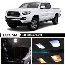 Awesome Awesome 12x 2016-2017 Toyota Tacoma White Interior LED ...
