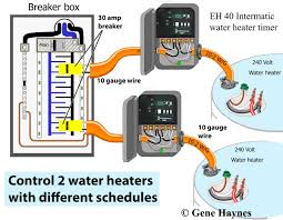 Simple Water Heater Pipe Connections Placement by How To Install Two Water Heaters