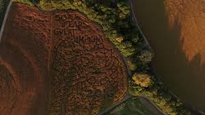 Valas Pumpkin Patch Campfire by Vala U0027s Pumpkin Patch From Above Youtube