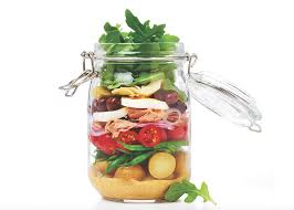 coeur de en pot salade à la niçoise en pot