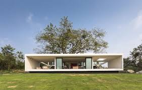 Images Front Views Of Houses by Eco Friendly House Follows The Slope To Capture The Views