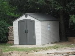 Lifetime 8 ft x 12 5 ft Outdoor Storage Shed 6402 The Home Depot