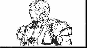 Superb Iron Man Logo Coloring Pages With And