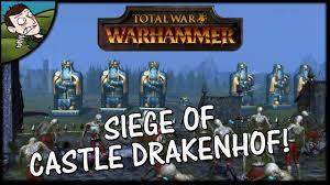 total siege siege of drakenhof total war warhammer gameplay dwarfs v