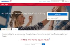 Bank of America Home Equity Line of Credit Home Equity Line of