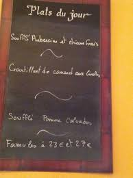 cuisine du jour le menu du jour picture of la cuisine de philippe