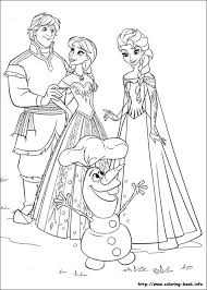 Clever Frozen Coloring Pages For Kids Colouring Picture More Under This