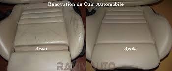 refaire siege voiture nettoyage et rénovation cuir auto nord lille lens arras douai