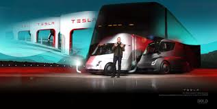 100 Simi Trucks Tesla Megacharger Development In Partnership With Big Brands