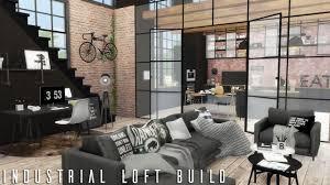 100 Gw Loft Apartments The Sims 4 Industrial CC LINKS BUILD YouTube