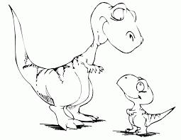 Dinosaur Printable Coloring Page