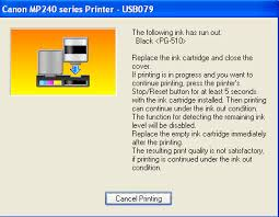 Press And Hold The Stop Reset Button Until Error Clears If Your Printer