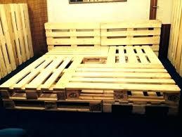 Pallet Bedroom Set Pallet Bedside Table Instructions Bedroom Set