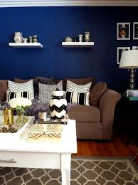 Brown Living Room Ideas by Blue And Brown Bedroom Before And After The Entire Homeu2026