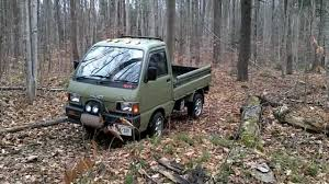 Daihatsu Hijet Mini-truck Short Drive Through The Forest ダイハツ ...