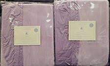 Purple Ruffle Blackout Curtains by Solid Pattern Girls U0027 Window Lined Curtains Ebay