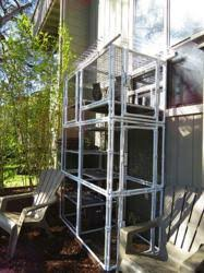 cats on deck modular outdoor cat enclosures manufacturer cats on deck marks