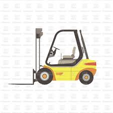 100 Icon Truck Forklift Icon Truck Isolated Illustration Vector Illustration Of