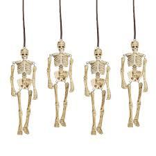 Dept 56 Halloween Village Retired by Department 56 Halloween Village Hangmen Skeletons Accessory New