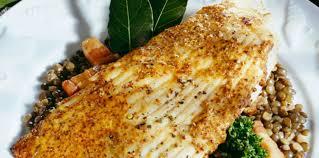 cuisiner la raie au four aile de raie aux lentilles facile et pas cher recette sur