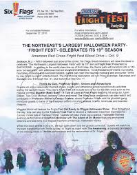Halloween Attractions In Jackson Nj by Fright Fest 2010 Page 3 The Park Today Great Adventure