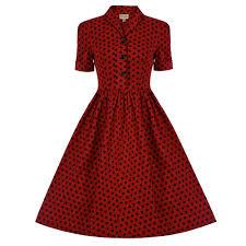 red polka dot dress dress images