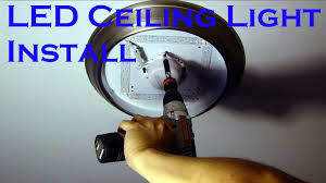 install 14 led ceiling light