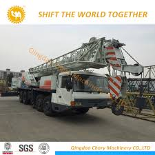 China Zoomlion 80t Grove 80 Ton Truck Cranes (QY80VF532) Truck ...