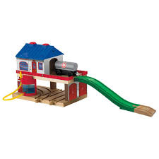 Thomas And Friends Tidmouth Sheds Wooden by Thomas U0026 Friends Wooden Railway Tidmouth Sheds