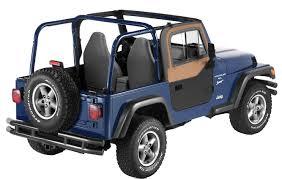 1997-2006 Jeep Wrangler Bestop Upper Door Sliders - Bestop 51787-15