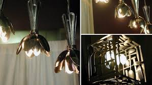 Daur Ulang Sendok Bekas Untuk Lampu