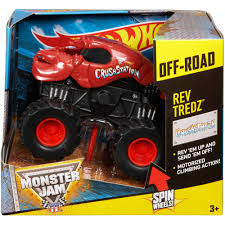 100 Hot Wheels Monster Truck Toys Jam Rev Tredz Assortment 1000