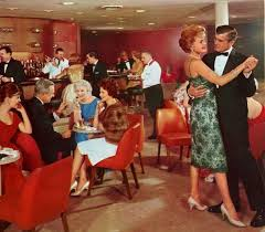 4 1950s Cocktail Hour At The Bar