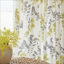 Yellow And Gray Kitchen Curtains by Interiors Amazing Yellow Curtains Grey Walls Plum And Gray
