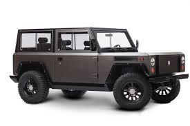 100 All Black Truck Bollinger Motors Unveils Electric Sport Utility CARFAX Blog