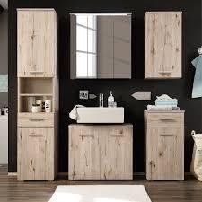 badezimmerset morson i 5 teilig spiegelschrank
