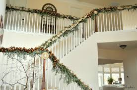 Sophia's: Christmas Stairs Christmas Decorating Ideas For Porch Railings Rainforest Islands Christmas Garlands With Lights For Stairs Happy Holidays Banister Garland Staircase Idea Via The Diy Village Decorations Beautiful Using Red And Decor You Adore Mantels Vignettesa Quick Way To Add 25 Unique Garland Stairs On Pinterest Holiday Baby Nursery Inspiring The Stockings Were Hung Part Staircase 10 Best Ideas Design My Cozy Home Tour Kelly Elko
