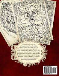 Amazon The Eclectic Owl An Adult Coloring Book Books Volume 1 9780692418611 G T Haddix