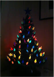 Tubular Light Bulb For Ceramic Christmas Tree by Donna Bunten Life Coaching Blog
