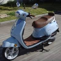 50cc Italia Touring Moped Scooter