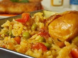 cuisine maghrebine riz au poulet cuisine algerienne le cuisine de samar