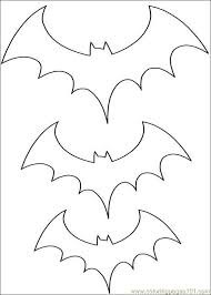 7 Pics Of Free Printable Bat Coloring Pages