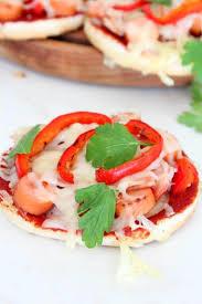 Halloween Hotdog Fingers Recipe by Mini Bread Pizza Recipe With Dogs Peppers And Mozzarella